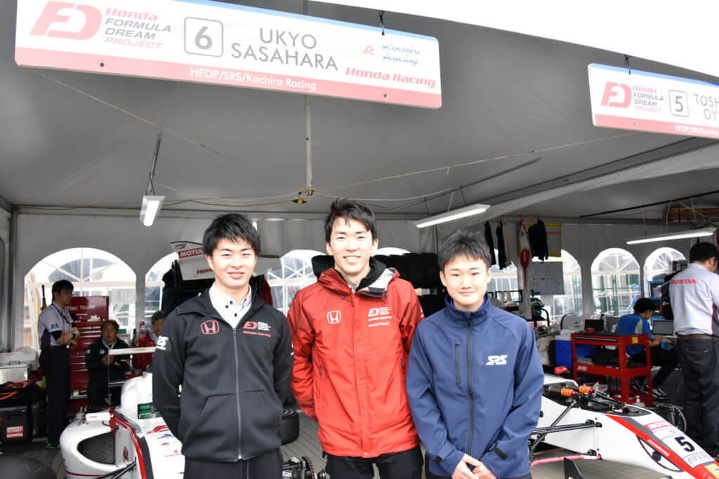 FIA F4 HONDA 大湯 笹原 角田
