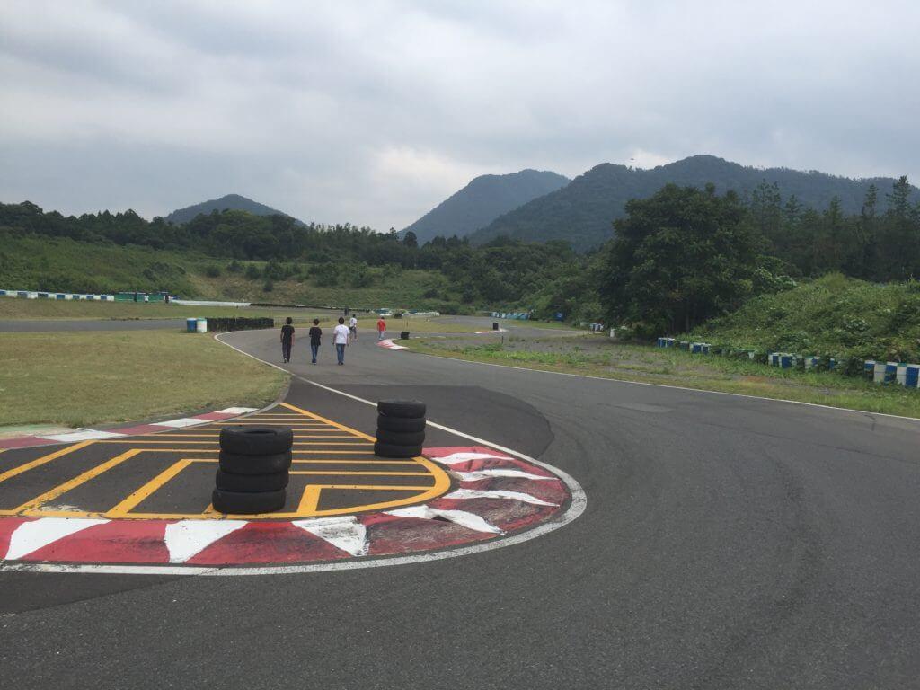 タカスサーキット 複合コーナー