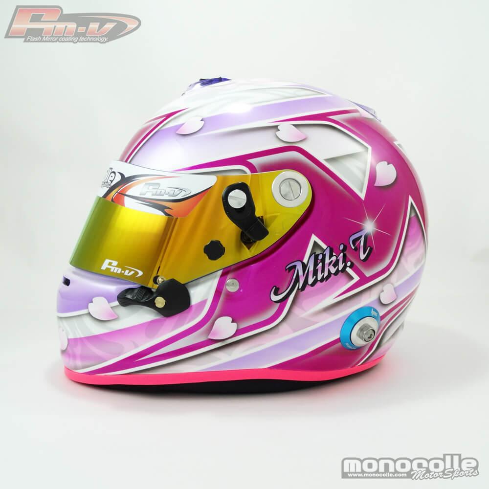 ヘルメットペイント ARAI GP6S 4輪
