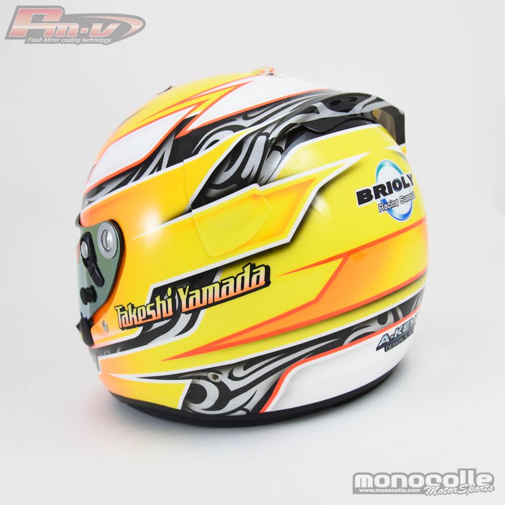 レーシングカートヘルメット