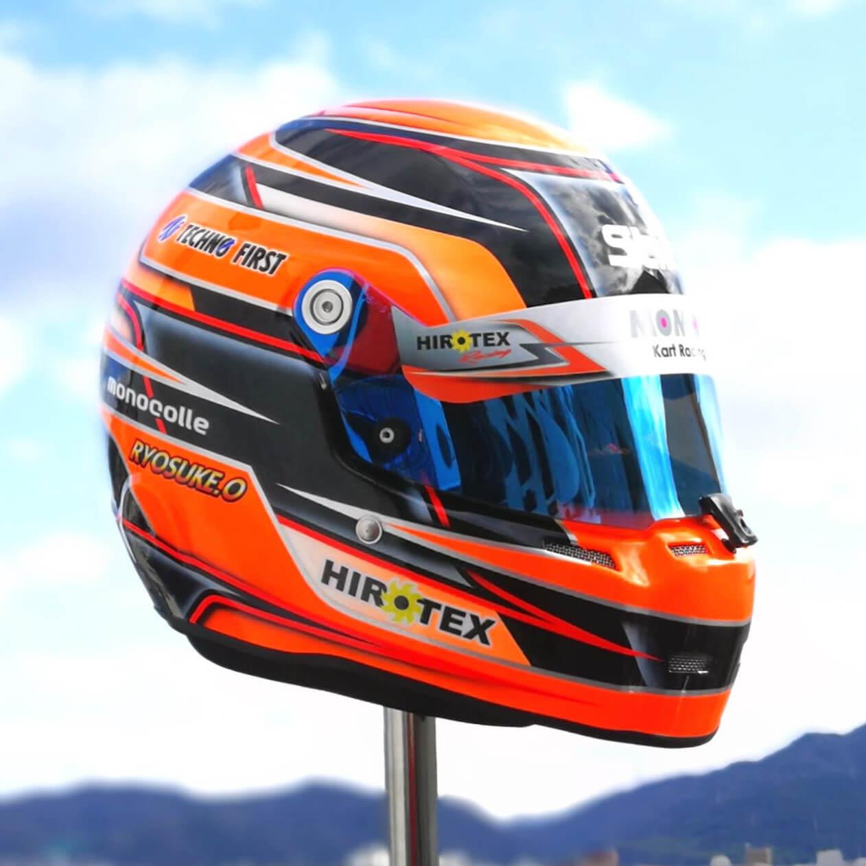 STILO 軽量 レーシングカート用ヘルメット ST5 CMR