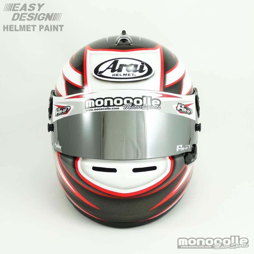 カスタムペイント  4輪ヘルメット
