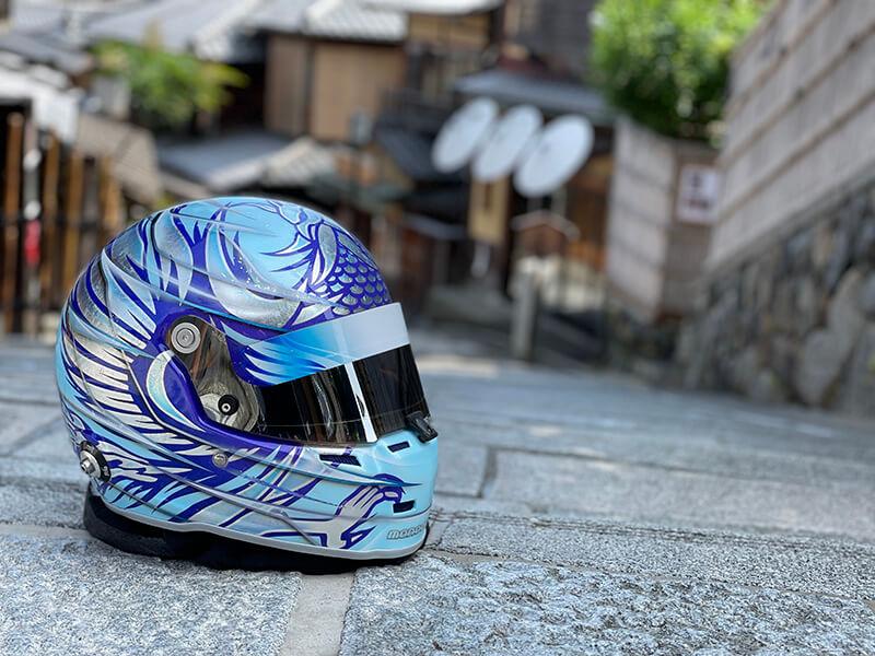ヘルメット塗装