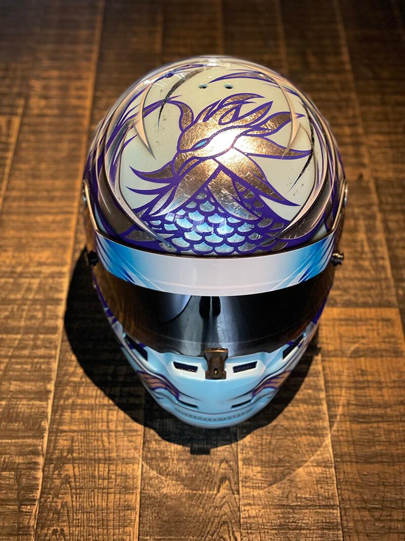 オリジナル デザイン ヘルメット