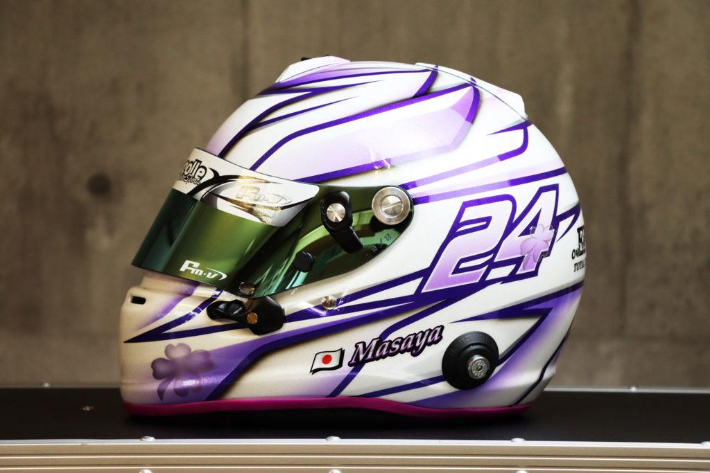 ヘルメットペイント ARAI GP6ベース