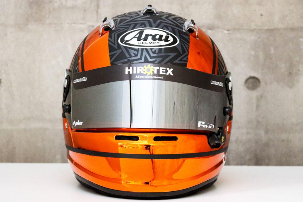 ヘルメット塗装 メッキベース