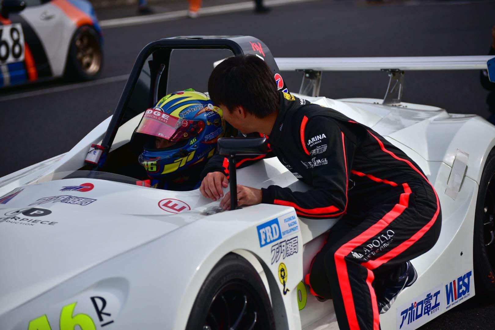 モノコレ レーシングスーツ FIA公認