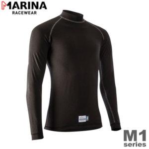 MARINA M1 FIA公認インナー トップ ブラック FIA8856-2000 Mサイズ