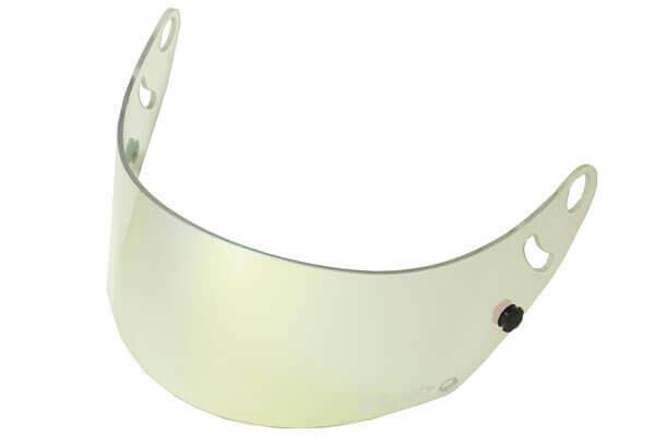 Fm-v Plus mirror coating visor GOLD/GREEN CLEAR CK-6S