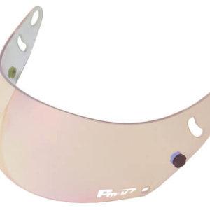 Fm-v Plus mirror coating visor PINK/GOLD CLEAR CK-6S