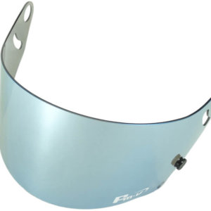 Fm-v Plus mirror coating visor ICE SILVER DARK SMOKE CK-6S