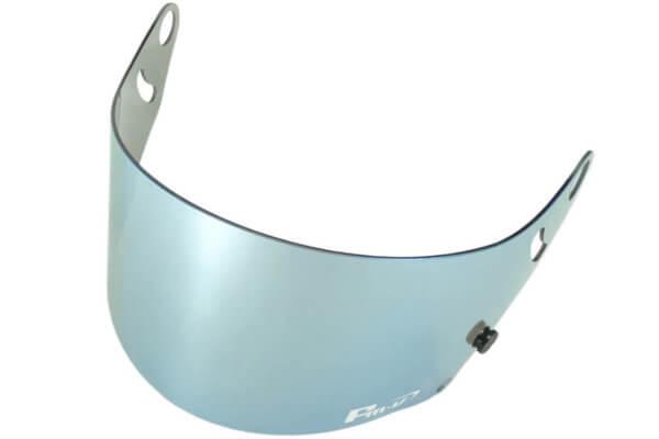 Fm-v Plus mirror coating visor ICE SILVER DARK SMOKE CK-6S