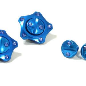 FASTLUX ARAI CK6 SCREW SET KAGAYAKI BLUE