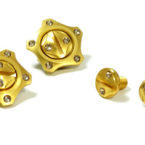 FASTLUX ARAI CK6 SCREW SET KAGAYAKI GOLD