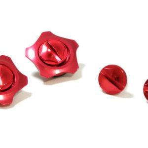 FASTLUX ARAI GP6 SCREW SET MASARU RED