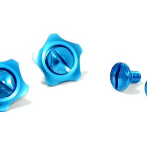 FASTLUX ARAI GP6 SCREW SET MASARU BLUE