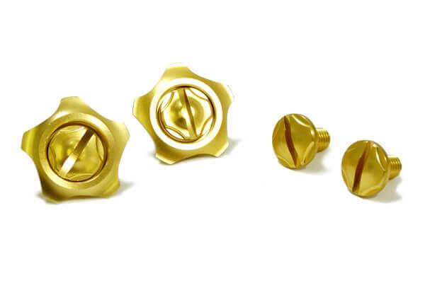 FASTLUX ARAI GP6 SCREW SET MASARU GOLD