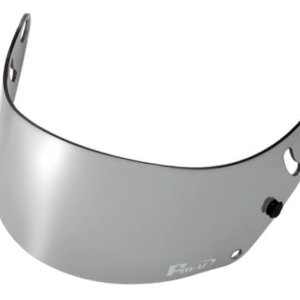 Fm-v Plus mirror coating visor CHROME SILVER LIGHT SMOKE for GP6 SK6