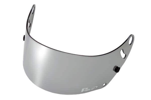 Fm-v Plus mirror coating visor CHROME SILVER LIGHT SMOKE for GP6 SK6