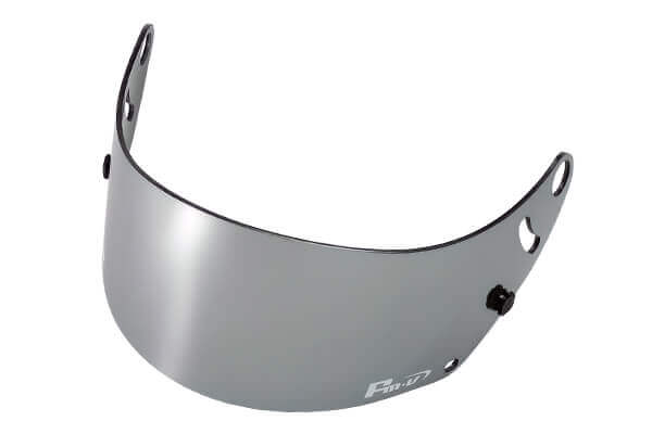 Fm-v Plus mirror coating visor CHROME SILVER SMOKE for GP6 SK6