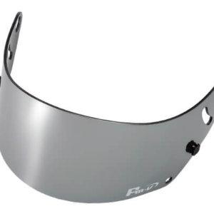 Fm-v Plus mirror coating visor CHROME SILVER DARK SMOKE CK-6S