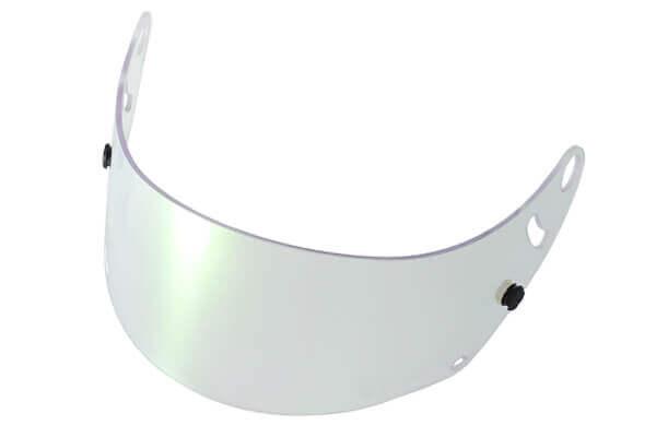 Fm-v Plus mirror coating visor GREEN CLEAR CK-6S