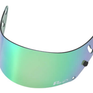 Fm-v Plus mirror coating visor GREEN LIGHT SMOKE for GP6 SK6