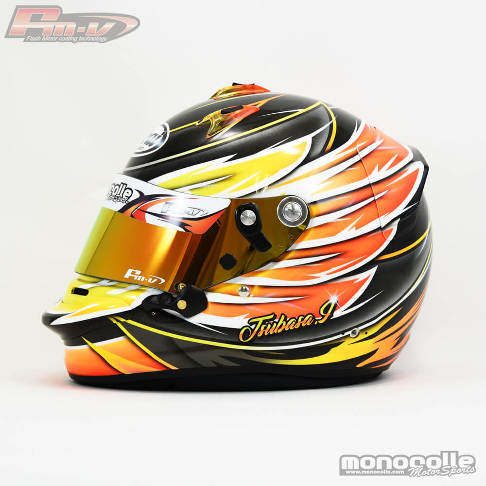 Helmet paint Arai GP6