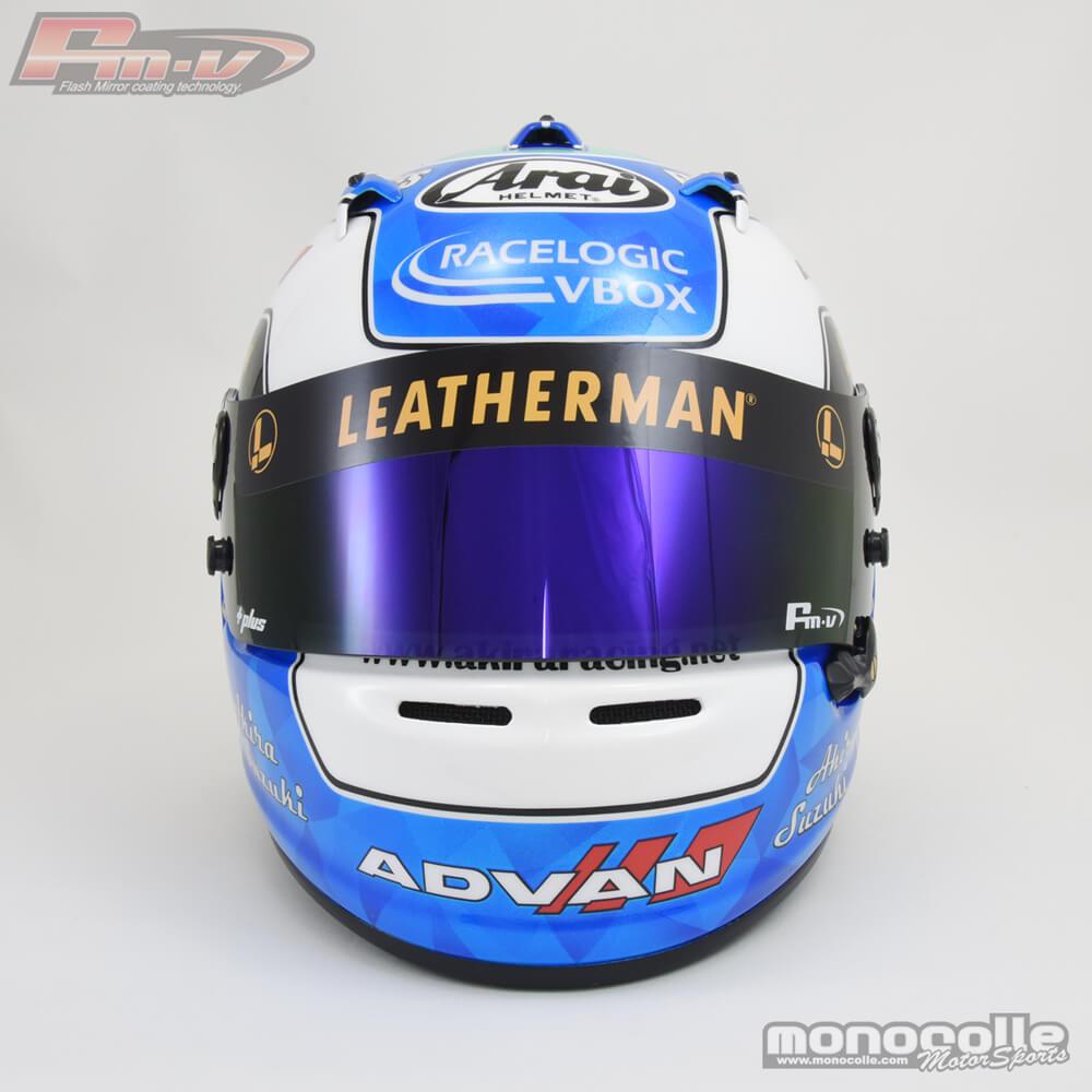 アライGP6S ヘルメット塗装