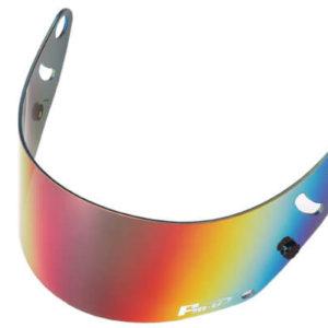 Fm-v mirror coating visor RED LIGHT SMOKE shield for GP6 GP6S SK6