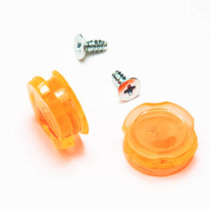 Ripsmile Tear Off Button Orange