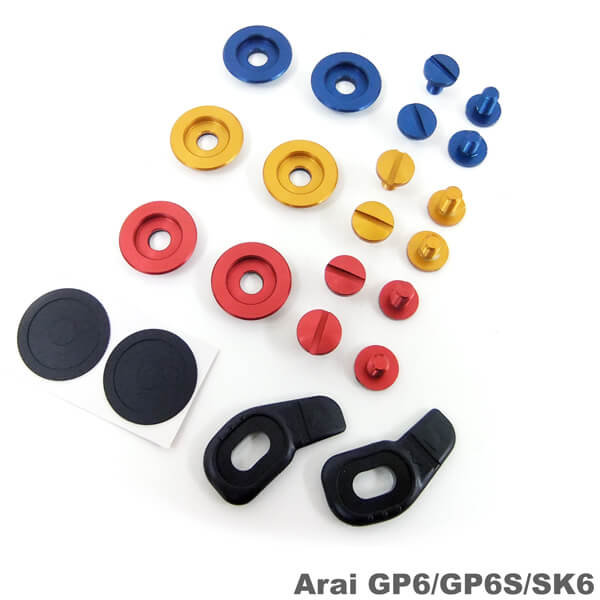 Helmet screw & Accessories