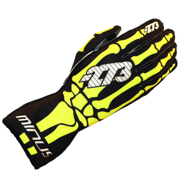 '-273 Skeletal FLUO L KARTING GLOVE