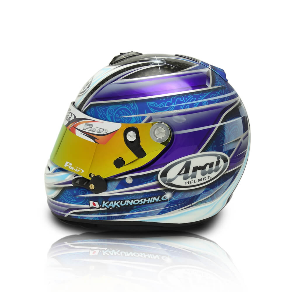 HELMET PAINT ARAI GP6S