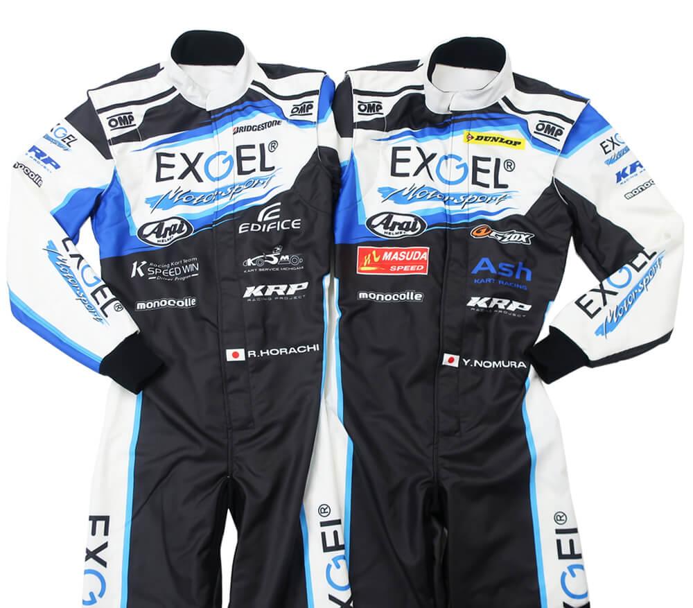OMPカスタムレーシングスーツ製作