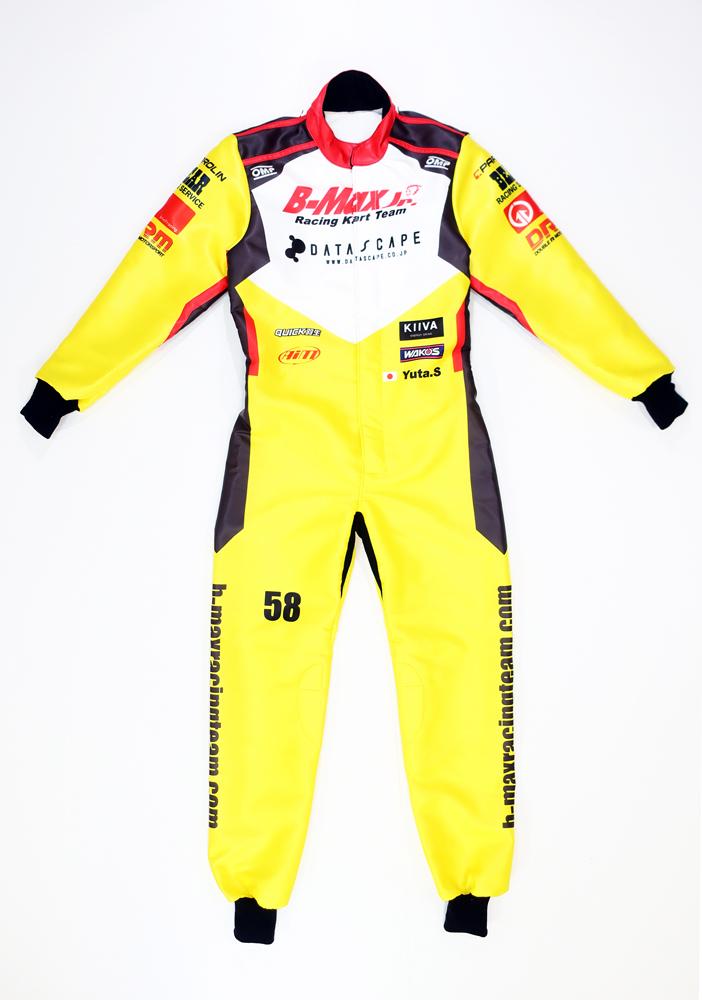 オリジナルレーシングカートスーツ