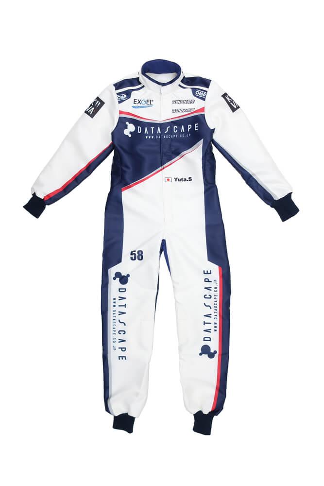 オリジナル レーシングカートスーツ 作製 製作