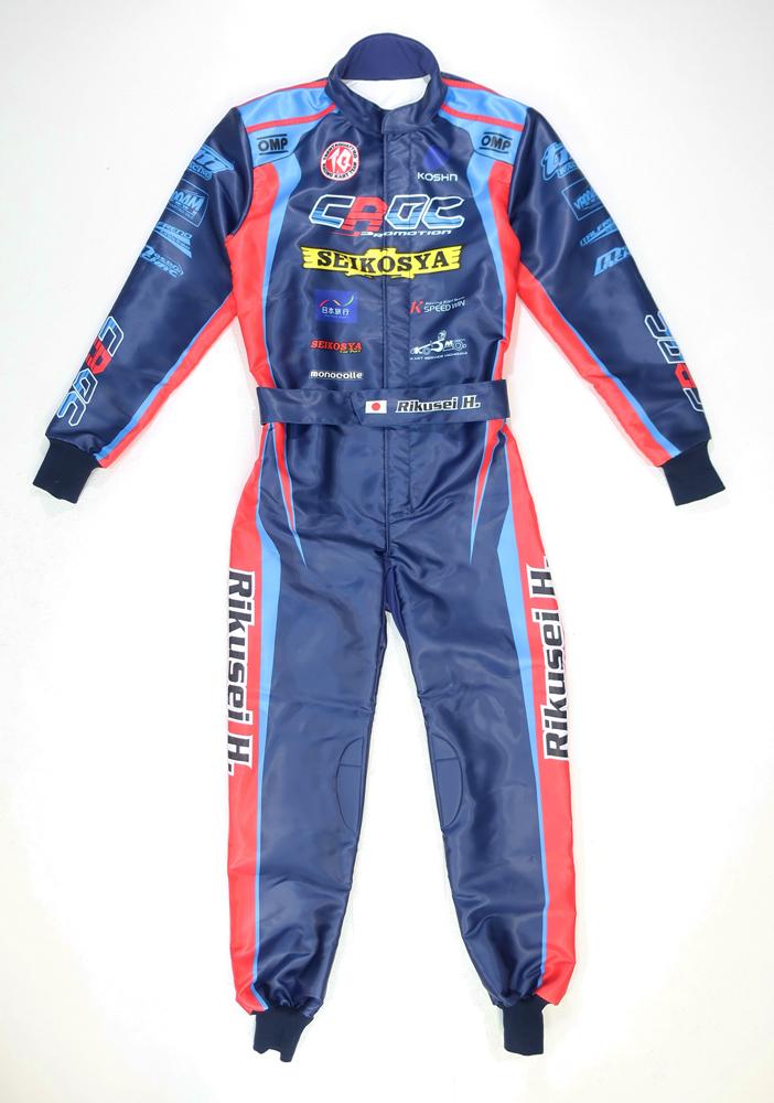 オーダーレーシングカートスーツ