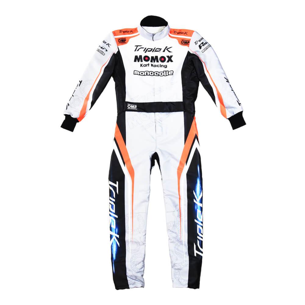 カスタマイズレーシングカートスーツ