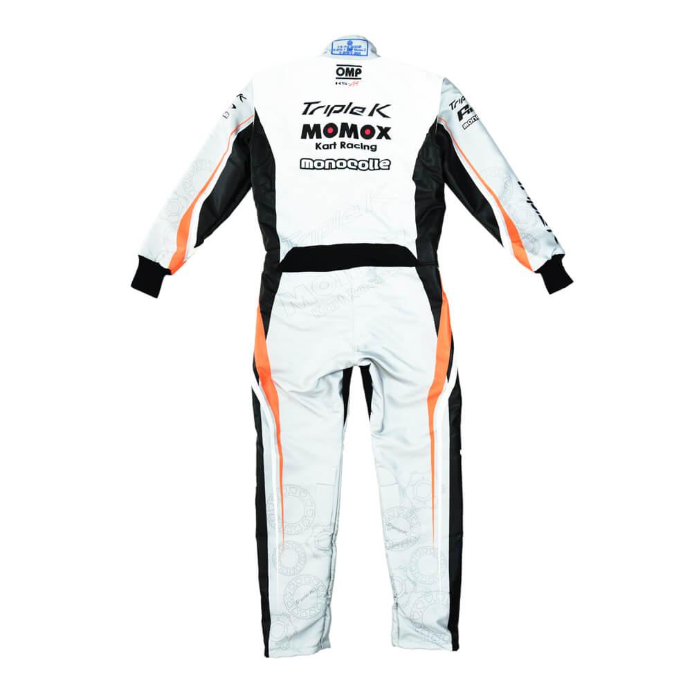 オリジナル レーシングカーとスーツ