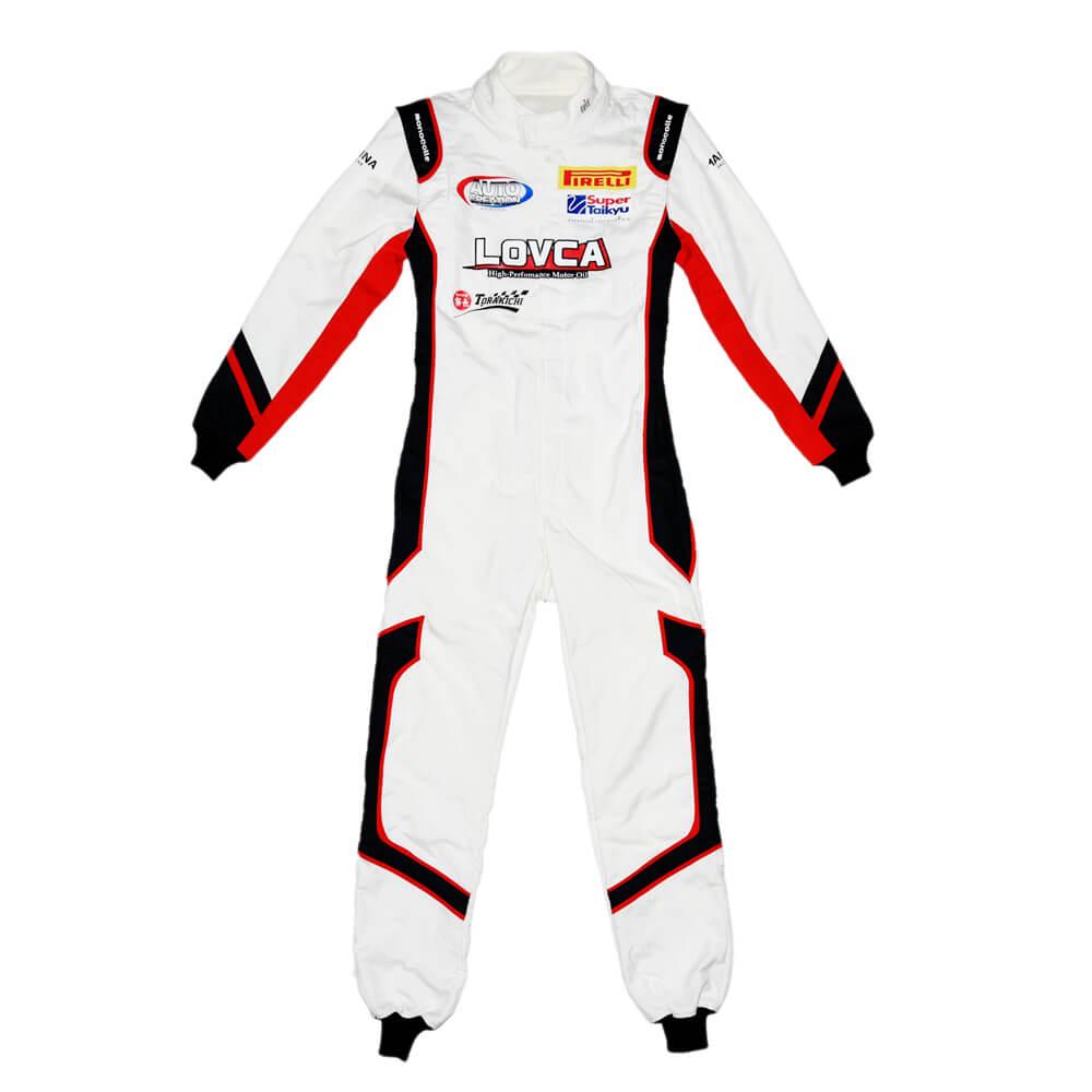 オリジナルレーシングスーツ製作