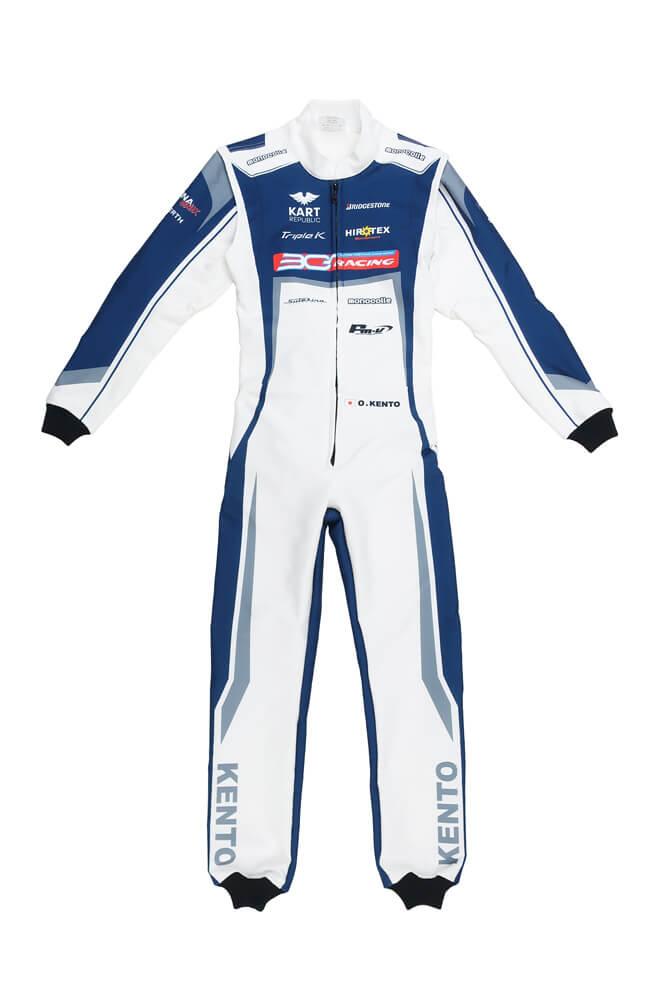 オリジナルレーシングカートスーツ製作