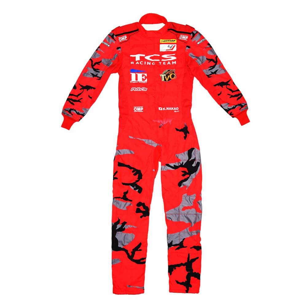 OMP FIA公認レーシングスーツ オリジナルデザイン