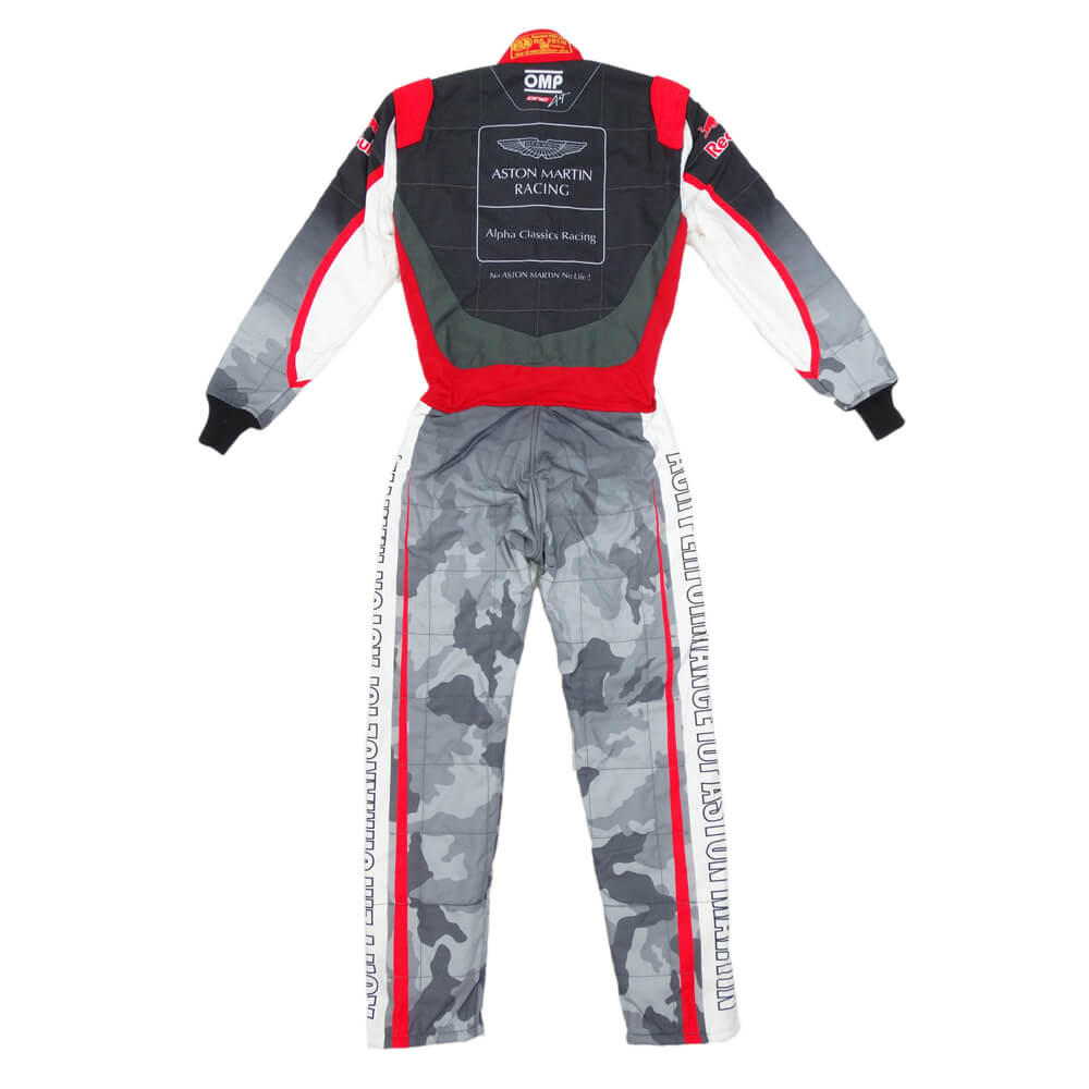 OMP ONE ART RACING SUITS FIA camouflage Red