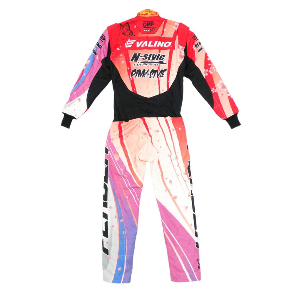 OMPレーシングスーツ オリジナルデザイン