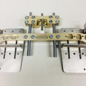 Junior / KIDS pedal kit V2 CRG P/B9mm Triple-k Racing kart parts