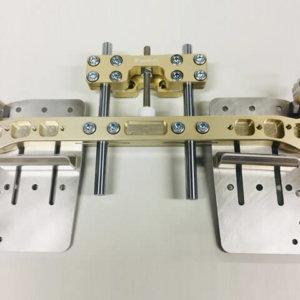 Junior / KIDS pedal kit V2 Birel RY/CRY P/B8mm Triple-k Racing kart parts